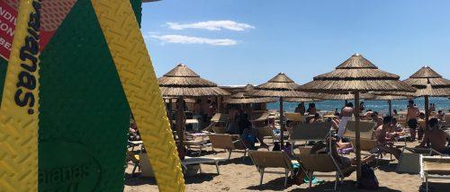 Beach of Marina di Eboli