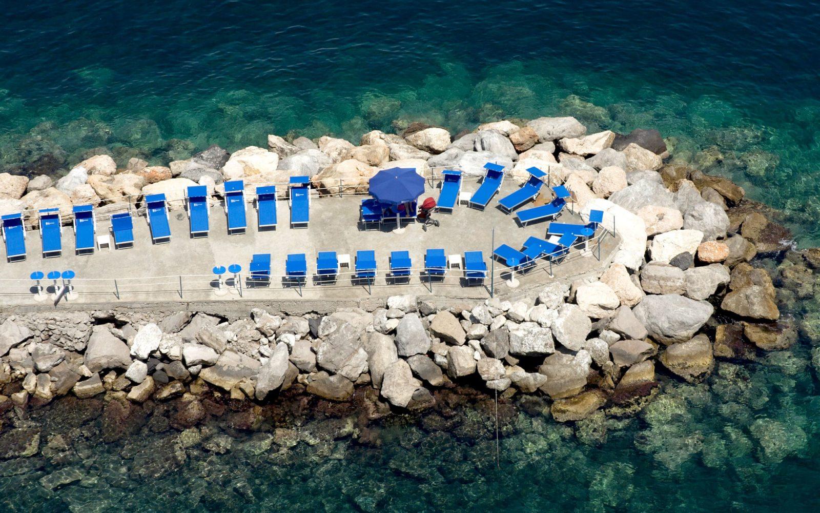 Riviera di Massa beach