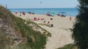 Spiaggia Capocotta - Lazio
