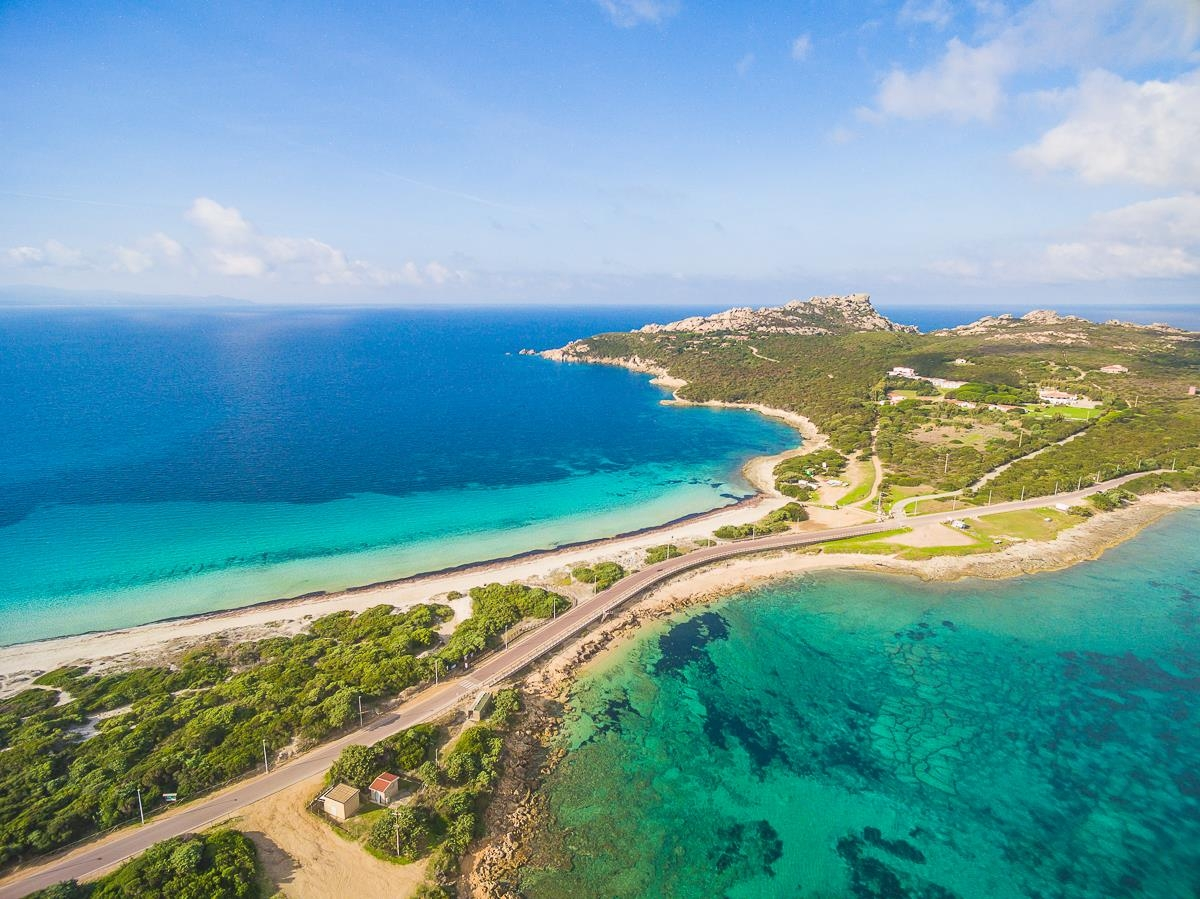 Capo Testa Spiaggia - Rena di Ponente - Rena di Levante - Gallura