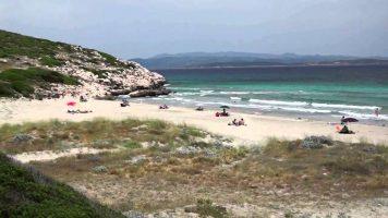 Spiaggia Coaquaddus - Sardegna