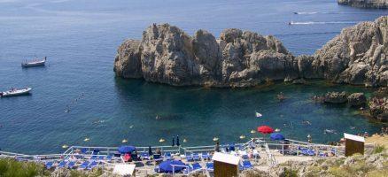 Spiaggia del Faro di Punta Carena - Capri
