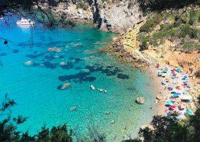 Spiaggia Cala del Gesso del Monte Argentario, Toscana