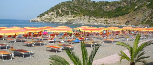 Spiaggia Gnola Castrocucco Maratea