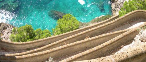 Grotta dell'Arsenale, Via Krupp, Capri