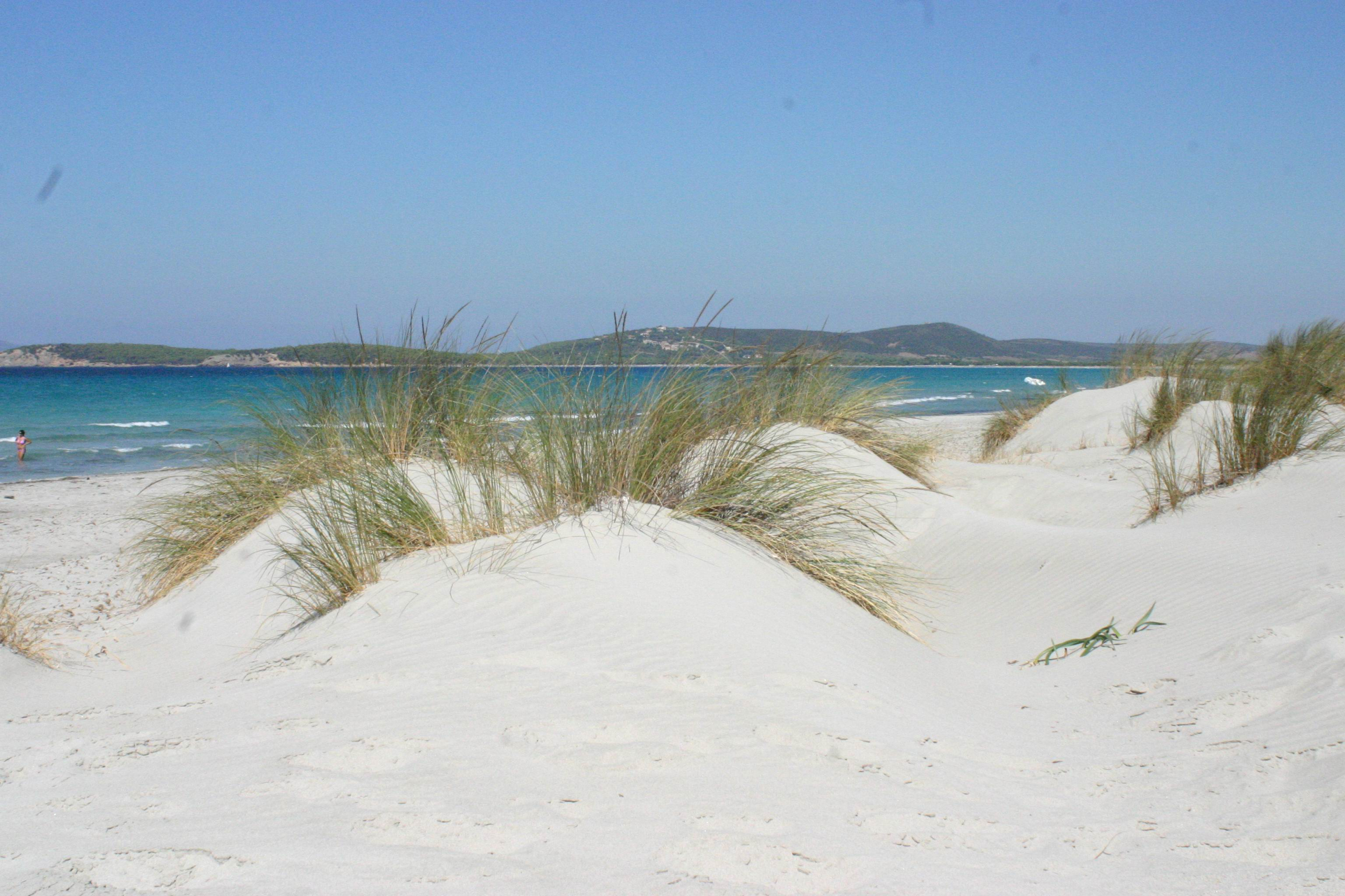 Spiaggia Is Arenas Biancas - Teulada