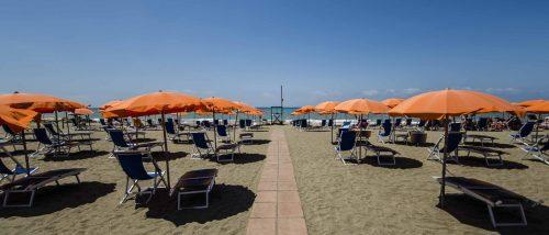 Spiagge di Lido di Tarquinia