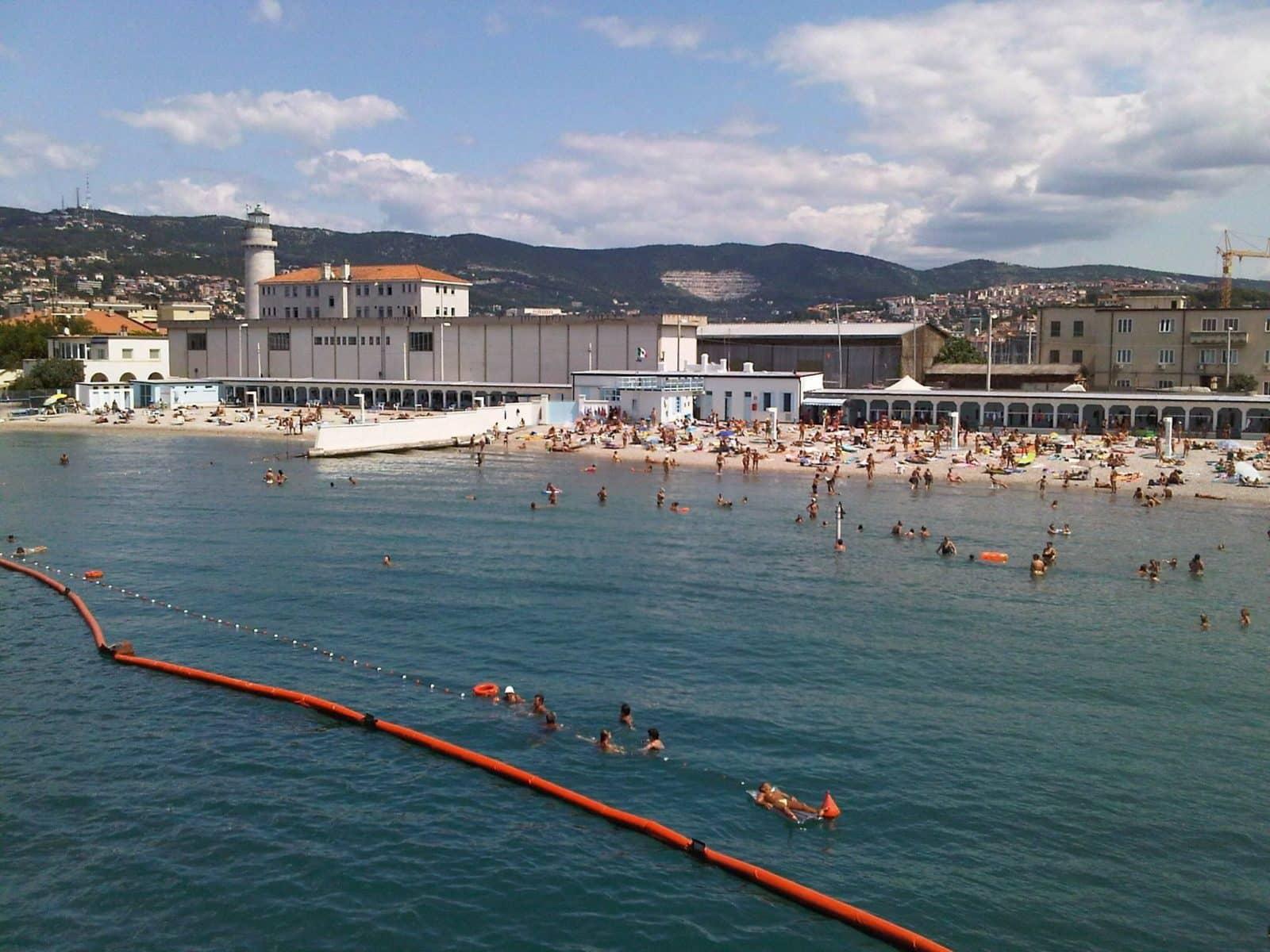 Spiagge di Trieste