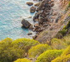 Spiaggia Acqua Appesa del Monte Argentario in Toscana