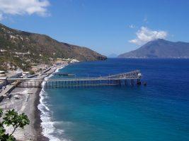 Spiaggia Acquacalda - Lipari - Eolie - Sicilia
