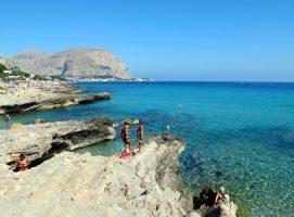 Spiaggia Addaura - Palermo - Sicilia