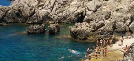 Spiaggia di Anacapri - Isola di Capri - Campania