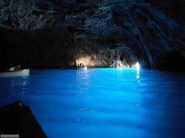 Spiaggia di Anacapri - Isola di Capri - Grotta Azzurra