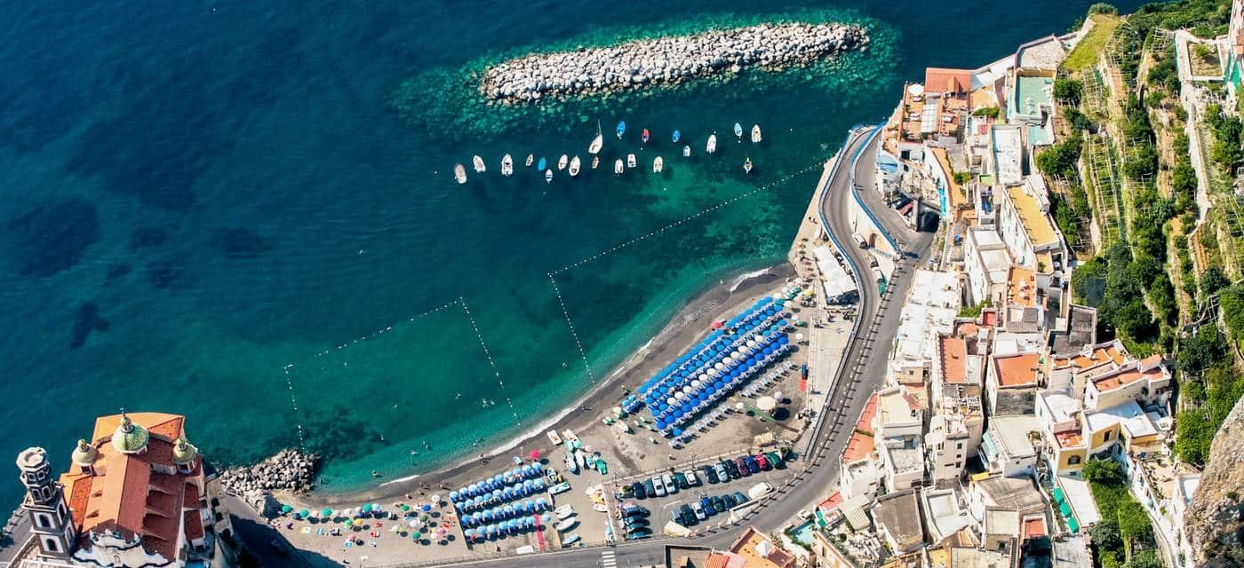 Spiaggia Atrani - Costiera Amalfitana - Campania