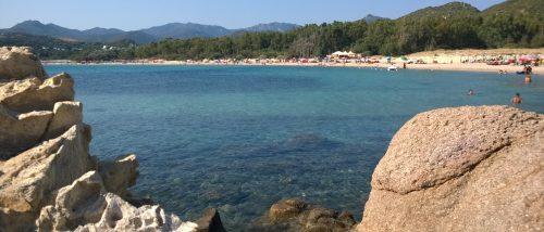 Spiaggia Baccu Mandara - Geremeas - Sardegna