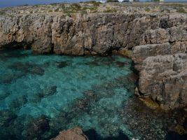 Spiaggia Baia dei Diavoli - Scogliera Posto Rosso - Alliste
