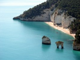 Spiaggia Baia delle Zagare - Baia dei Mergoli - Mattinata - Vieste