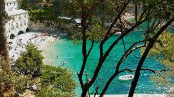 Spiaggia Baia di San Fruttuoso - Camogli - Liguria