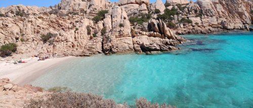 Spiaggia Cala Coticcio - Tahiti - Isola di Caprera - Maddalena - Sardegna