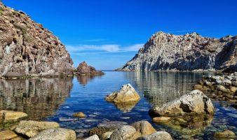 Spiaggia Cala Fico - Isola di San Pietro - Sardegna