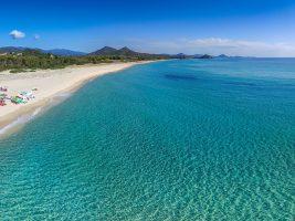 Spiaggia Cala Sinzias, Castiadas