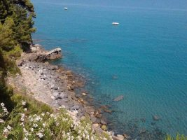 Spiaggia Capo Mimosa - Cervo - Liguria