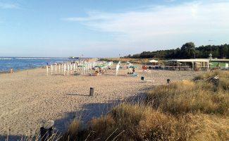 Spiaggia Casalborsetti, Ravenna, Emilia Romagna