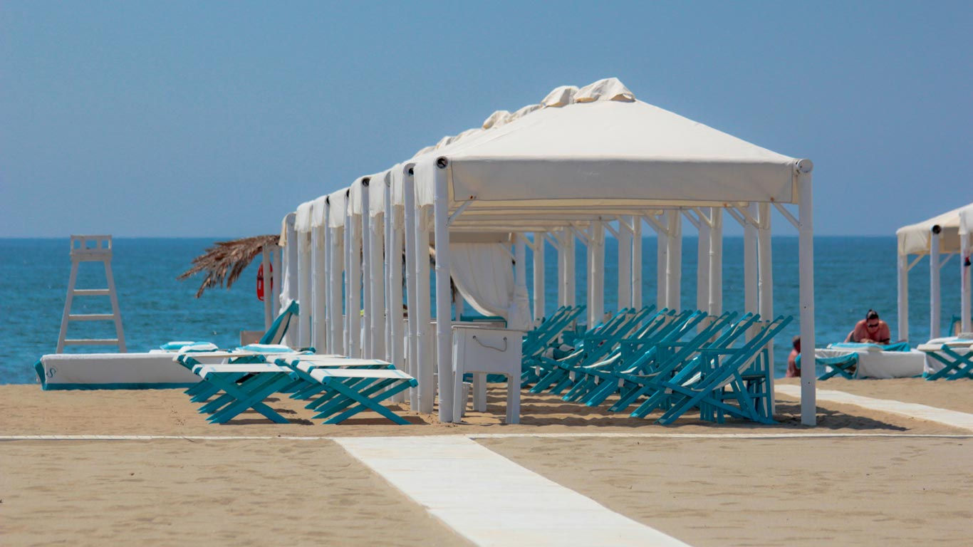 Spiaggia Cinquale - Versilia