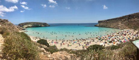 Spiaggia dei Conigli, Lampedusa, Sicilia
