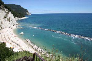 Spiaggia di Numana, Riviera del Conero, Marche