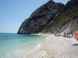 Spiaggia delle due sorelle - Riviera del Conero - Marche - Sirolo - Numana
