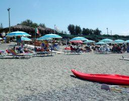 Spiaggia di Falerna Marina, Calabria