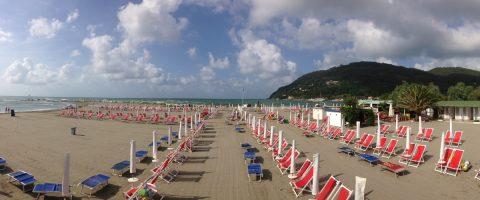 Spiaggia Fiumaretta - Ameglia - Liguria