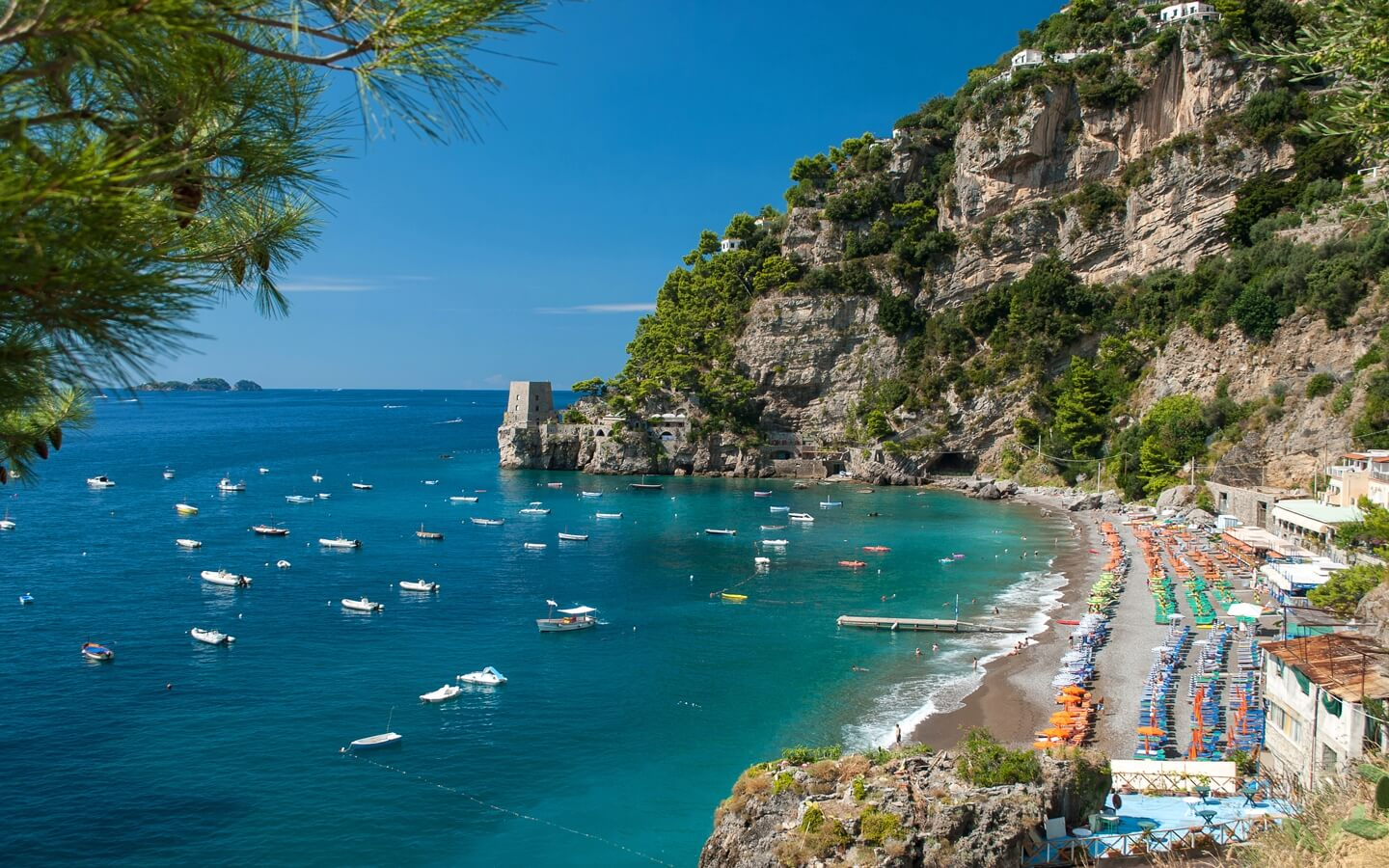 Image result for Fornillo Beach, Positano""