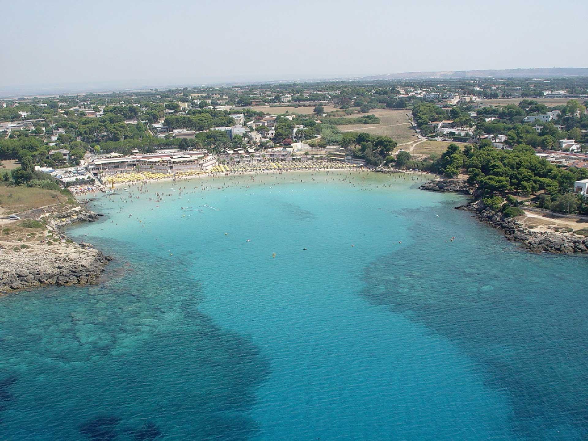 Spiaggia della Baia di Gandoli