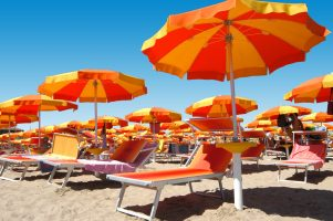 Spiaggia Gatteo a Mare - Riviera Romagnola - Emilia Romagna