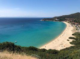 Spiaggia Geremeas - Sardegna