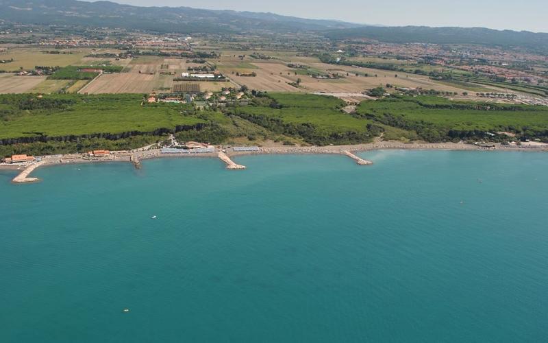 Spiaggia le gorette marina di cecina spiagge italiane su - Bagno da gigi cecina ...
