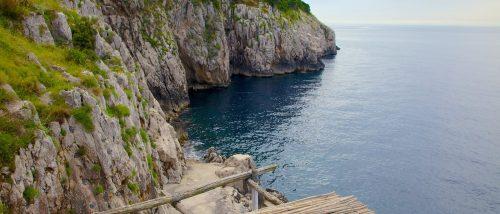 Spiaggia di Gradola, Isola di Capri