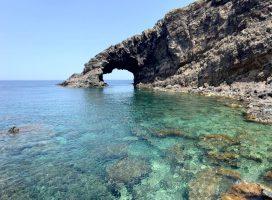 Spiaggia Kamma - Pantelleria - Arco Elefante