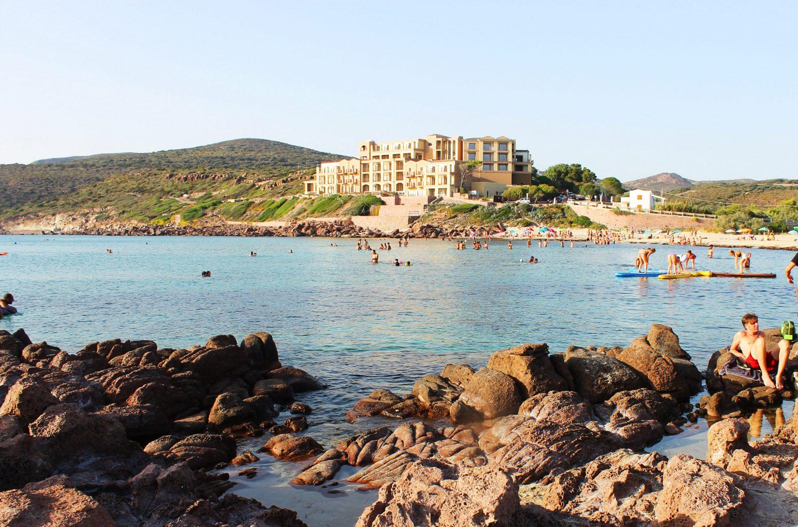 Spiaggia La Caletta di Carloforte