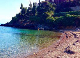 Spiaggia La Soda del Monte Argentario in Toscana