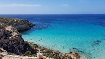 Spiaggia Isola di Lampedusa, Sicilia