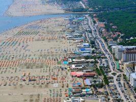 Spiaggia di Lido degli Estensi, Lidi di Comacchio