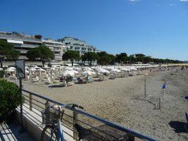 Spiaggia di Lido di Dante, Ravenna, Emilia Romagna