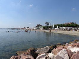 Spiaggia di Lido delle Nazioni, Lidi di Comacchio