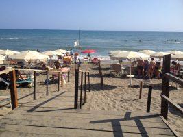 Spiaggia Marina di Latina - Lido di Latina