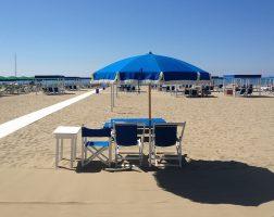 Spiaggia di Marina di Pietrasanta, Versilia, Toscana