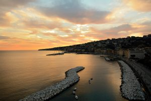 Spiaggia Mergellina, Napoli - Campania