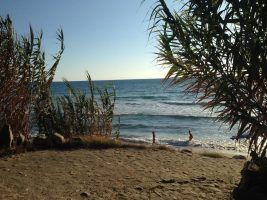 Spiaggia Mezzatorre di San Mauro Cilento